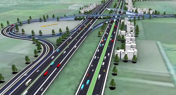Country`s first 6-lane flyover opens tomorrow