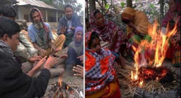 Cold wave hits life in Kurigram