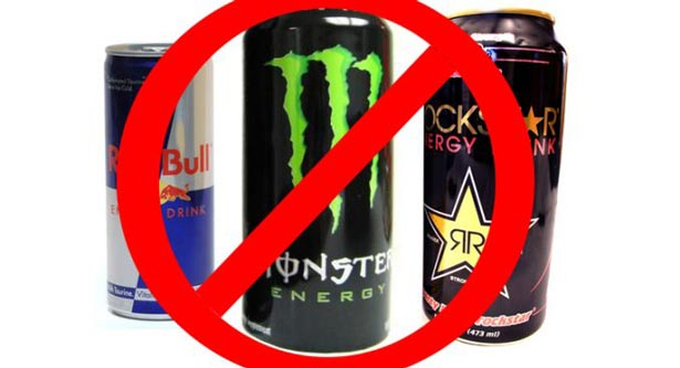 Say No to energy drinks
