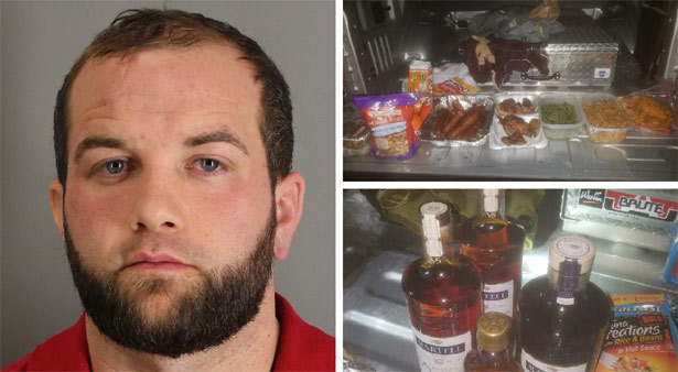 Inmate escapes from prison and returns with alcohol, food