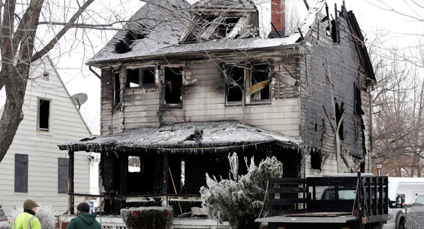 Four killed in Cleveland house fire
