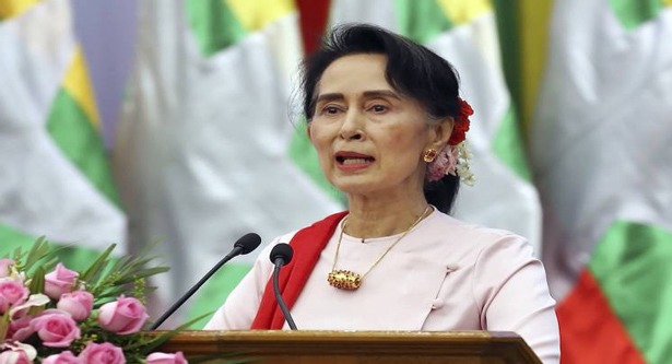 Suu Kyi`s residential compound attacked
