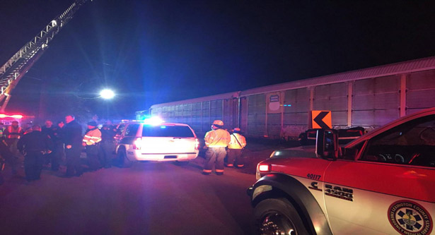 Two dead, 70 injured in South Carolina train collision