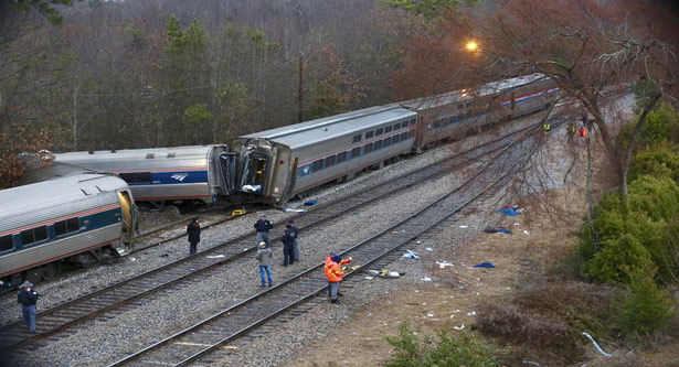 Amtrak train crash in S.C. kills 2, injures 116