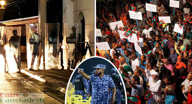 Maldives president declares emergency, top judge arrested