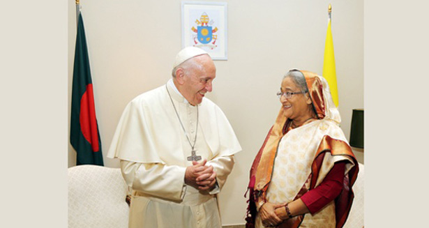 PM to meet Pope today