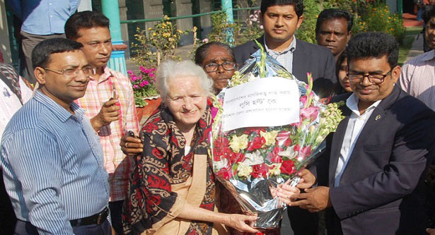 Lucy Holt gets Bangladesh Citizenship