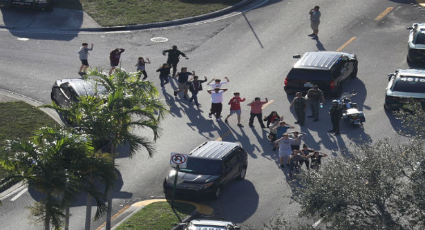 17 shot dead by an expelled student in Florida school