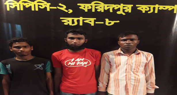 3 jailed for gang-raping physician in Rajbari