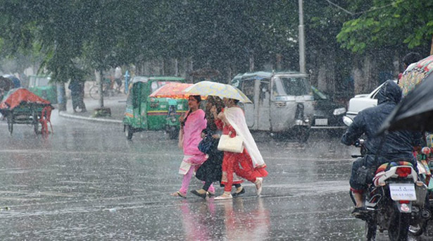 Rain, thundershowers likely over country