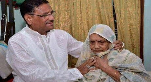 Quader`s mother passes away, PM mourns