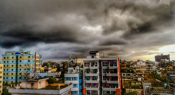 Weather may remain dry with partly cloudy sky