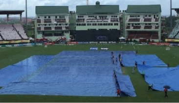 Rain washes out 1st West Indies vs. India ODI