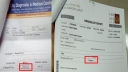 Which dengue test report is correct?