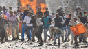 Delhi battleground again, 5 killed