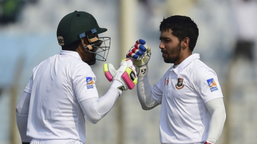 Mominul, Shanto fifties put Bangladesh ahead