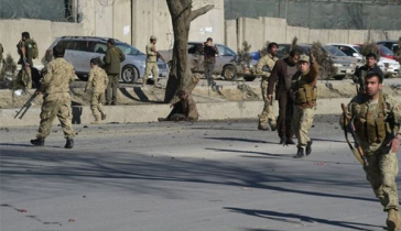 8 Afghan soldiers killed in suicide car bombing
