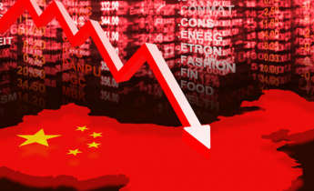 China suffers $420 bn in a month