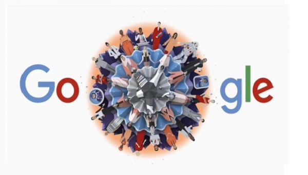 Google brought change in its logo on Intl Women`s Day