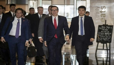 US Treasury Sec Mnuchin calls China trade talks `productive`