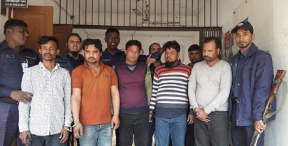 5 'fake cops' held while collecting extortion money