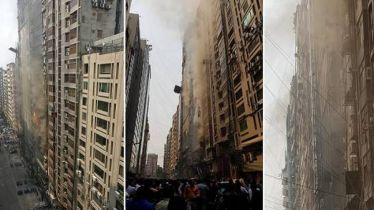 Massive fire at Banani's FR Tower, many get trapped
