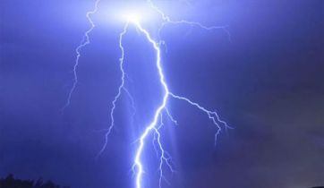 Why lightning often strikes twice