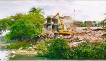 29 structures evicted from Turag bank