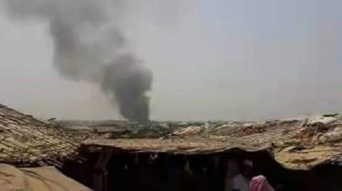 Fire at Kutupalong Rohingya camp