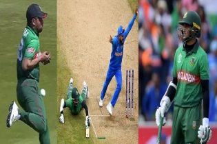 Bangladesh knock out from WC with 28-run defeat