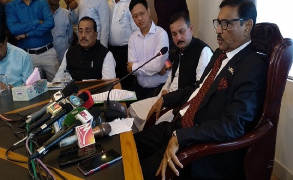 Road Transport and Bridge Minister Obaidul Quader inaugurated eight projects of the district at Cox`s Bazar Road and highways office