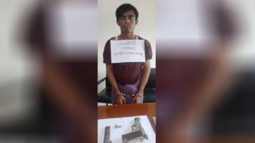 Rohingya terrorist detained with pistol from Balukhali camp