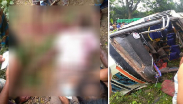 2 including child killed as bus hit motorcycle