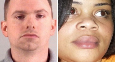 US Police officer charged for murder