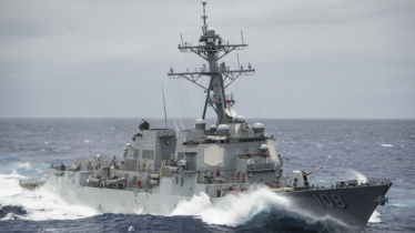 China condemns US navy sail-by in disputed waters