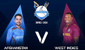 Afghanistan faces Windies in 3rd ODI today