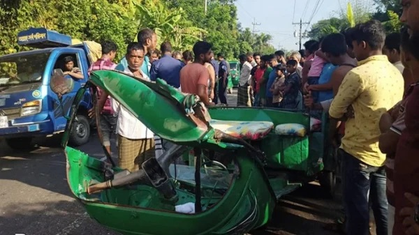 2 auto passengers killed in Daganbhuiyan road crash