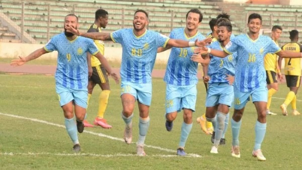 Abahani earns easy victory over Saif Sporting