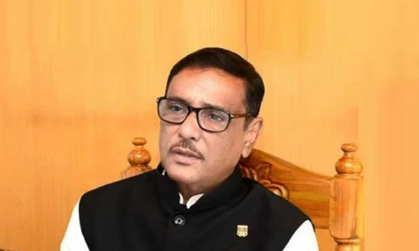 Awami League General Secretary and Road Transport and Bridges Minister Obaidul Quader (File Photo)