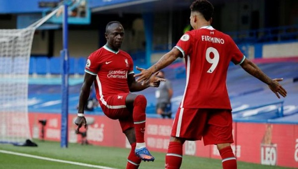 Mane scores twice as Liverpool win against Chelsea