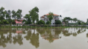 Low lying areas flooded in Akhaura