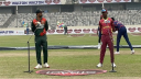 West Indies opt to bat against Tigers