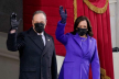 Kamala Harris sworn in as first US vice-president
