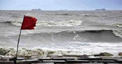 Maritime ports asked to hoist signal no 3