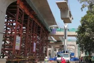 Metro rail project`s first phase now visible