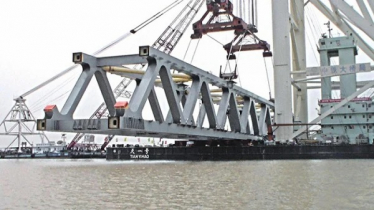 Padma Bridge: 39th span installed; 5.8km now visible