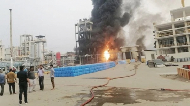 Fire breaks out at Gazipur chemical factory