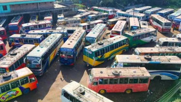 Buses ply on Rajshahi-C'nawabganj 'suddenly' shut down