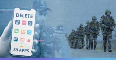 Indian Army banned from using 89 apps including Facebook