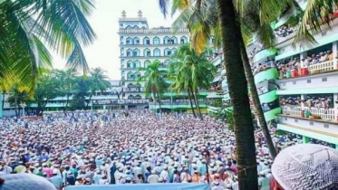 Millions people flock for last glance Allama Shafi